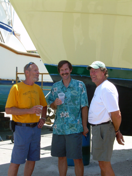 Peter Seyffert with Founding Partners Joe Jacobson and Robert Killian